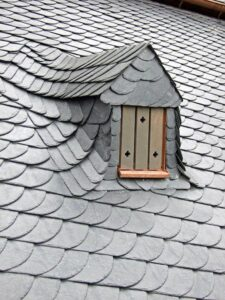 fancy slate roof