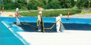 Spray foam roof coating