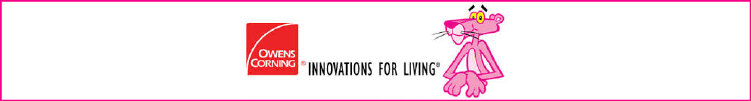 Owens Corning - Banner Ad - Innovations for Living