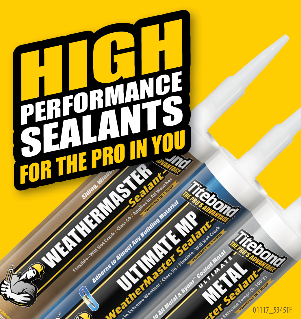 Franklin International - Sidebar Ad - Titebond Sealants